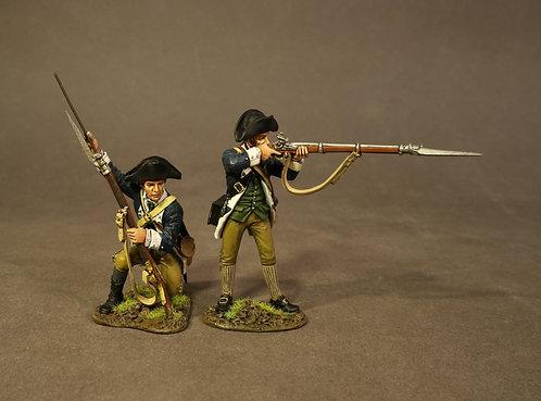 SMASS-08 - 2 Line Infantry, 2nd Massachusetts Regiment, the Battle of Sa