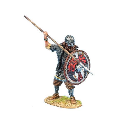 VIK019 - Viking Warrior Shieldwall with Spear