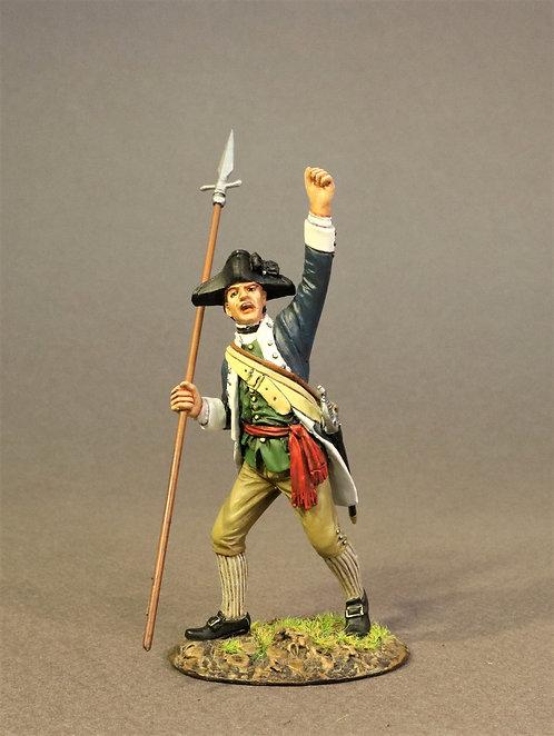 SMASS-01 - Infantry Officer, 2nd Massachusetts Regiment, the Battle of Saratoga