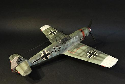 """ACE-203 - Messerschmitt Bf-109 E4, STAB/ JG53 """"Pik As"""", Hptm. Wilhelm Meyerweiss"""