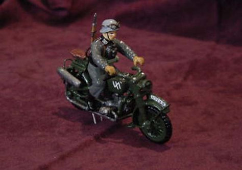 WS003G - One Dispatch Rider Motorcycle in Gloss