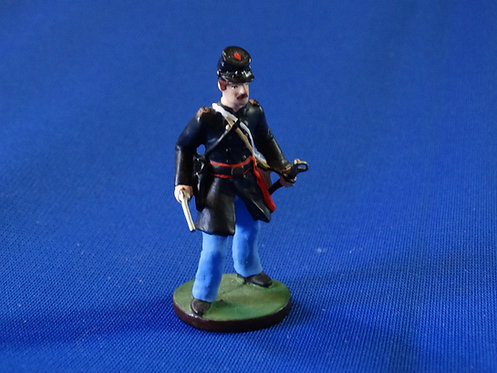 CORD-0455-Union Infantry Officer - Niena - ACW - 54mm Metal No Box