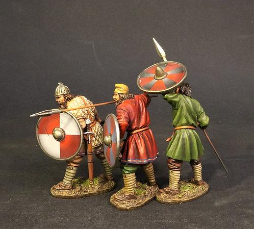 SX-232425B - Saxon Fyrdmen, Anglo Saxon/Danes