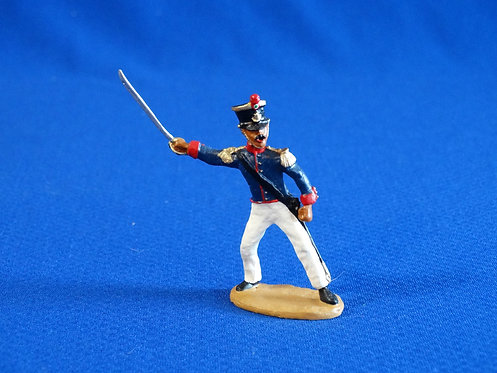 CORD-AL315 - Mexican Officer  - Alamo - Unknown Manufacturer - 54mm Meta