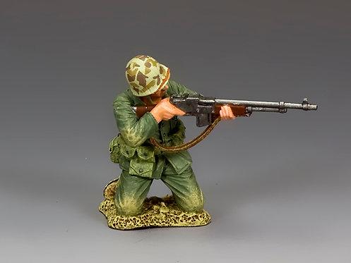 USMC028 - Kneeling B.A.R. Gunner