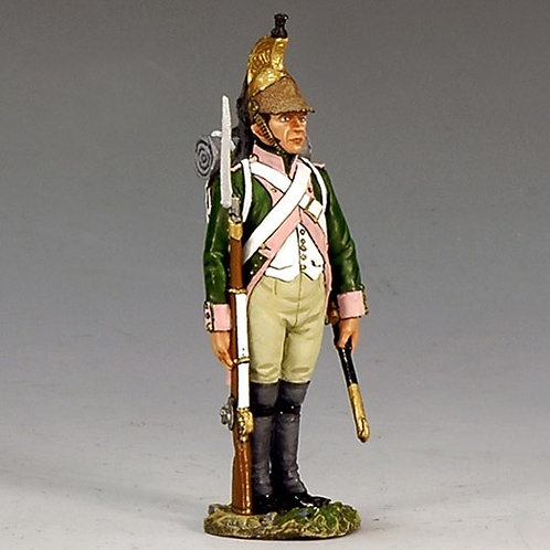 NA181 - French Dragoon  Standing Attention