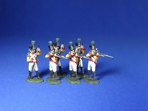 WLG.1 - Westphalia, 1st Regt Grenadiers (3 Firing, 3 Loading)