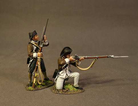 SCAN-07 - 2 Line Infantry, 1st Canadian Regiment, the Battle of Saratoga