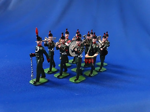 COMS-76 - King's Royal Rifle Corps 1908, Marching Band - 12 Figures