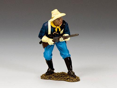 TRW123 - Buffalo Soldier Crouching Trooper
