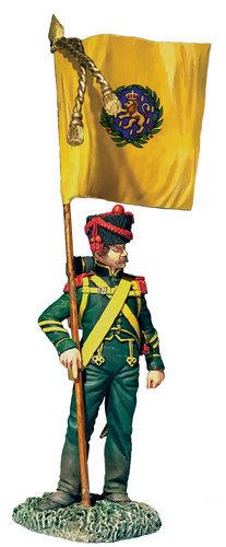 36182 - Nassau Grenadier with Regimental Colour, 1815