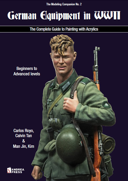 AP-064 - German Equipment of WWII: The Complete Guide to Painting with Acrylics