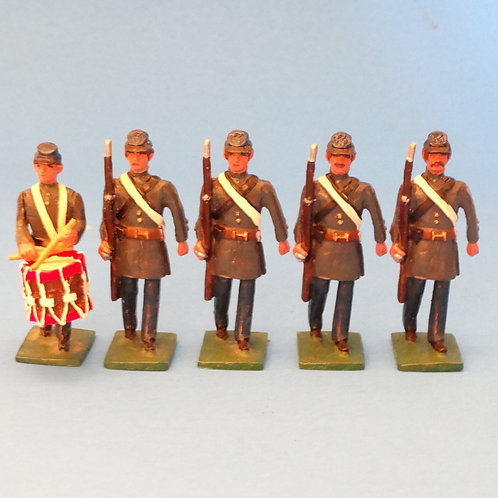 #167 Confederate Marines Drummer Boy and Rifles  - ACW - Martin Ritchie