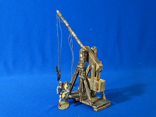 VD-016 - Small Trebuchet - Wood Construction - 60mm Scale - Volk Designs