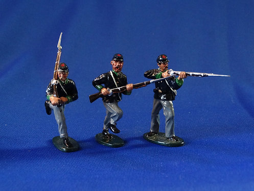 CORD-2096-Union Advancing - ACW - Ted Toy - 54mm Metal Glossy - No Box