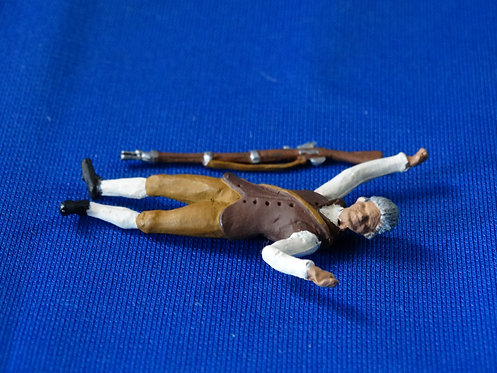 CORD-RA0187 - Colonial Militia Casualty  - AWI - Unknown Manufacturer