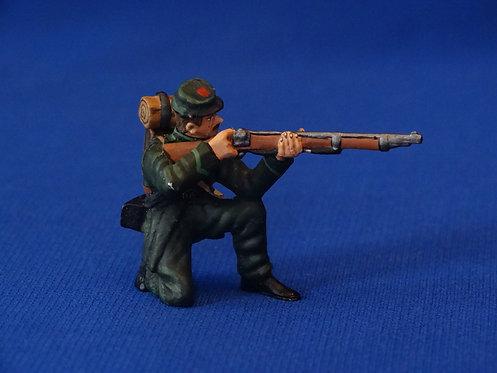 COAG-594 Berdan's Sharpshooters Kneeling Firing - Frontline - ACW - 54mm Metal