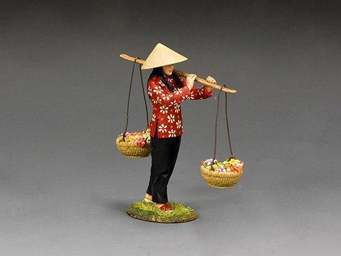 VN085 - Vietnam Flower Girl