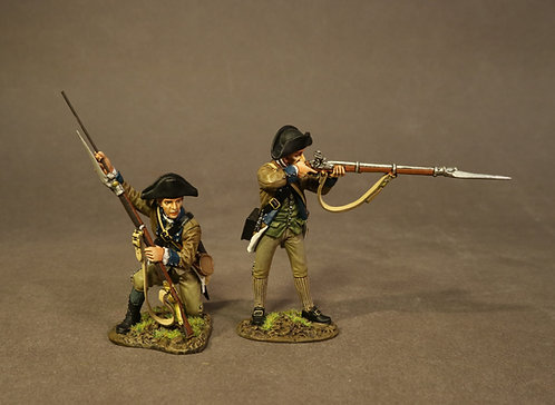 SNY-08 - 2 Line Infantry, 2nd New York Regiment, the Battle of Saratog