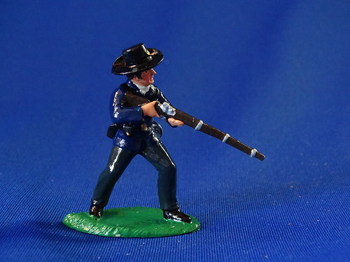 CORD-T097-Union at the Ready - ACW - Trophy - 54mm Metal - Glossy - No Box