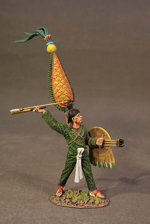 AZ-12 - Aztec Warrior with Atlatl