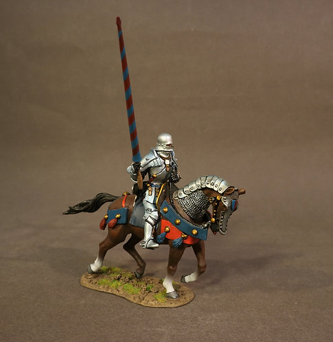 RYORK-06A - Mounted Yorkist Knight,The Battle of Bosworth Field 1485