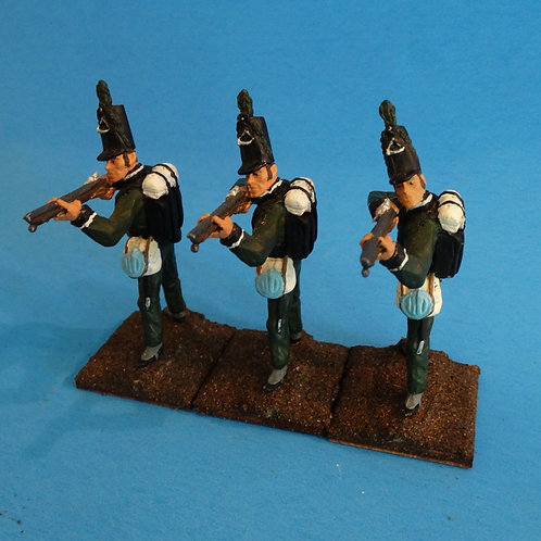 MI-514 - British 95th Rifles - Napoleonics (3 figs) - Li'l Army - 60mm