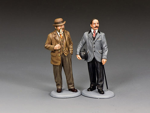 WoD066 - Inspectors Lestrade & Bradstreet of Scotland Yard