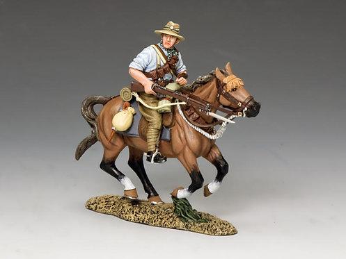 AL074 - Mounted Kiwi Charging with Rifle