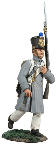 36094 - French Line Fusilier Marching in Greatcoat No.2