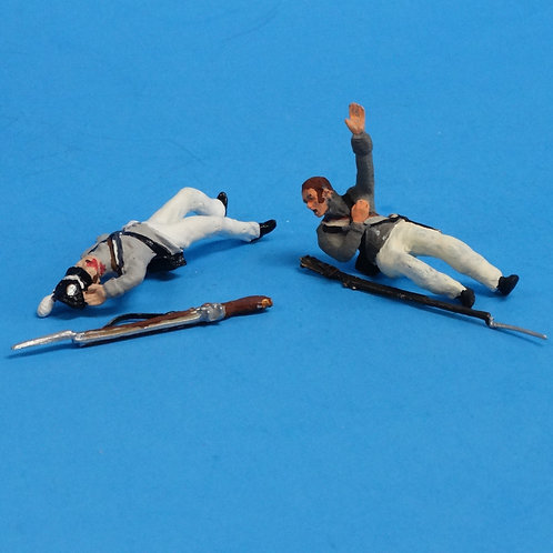 CORD-A0195 - US Infantry Wounded (2 Figures) - War of 1812 - 54mm
