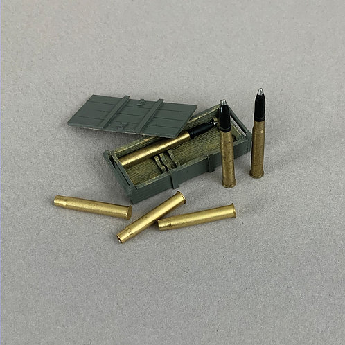 25086 - German 88mm Crate and Armor-piercing Shells