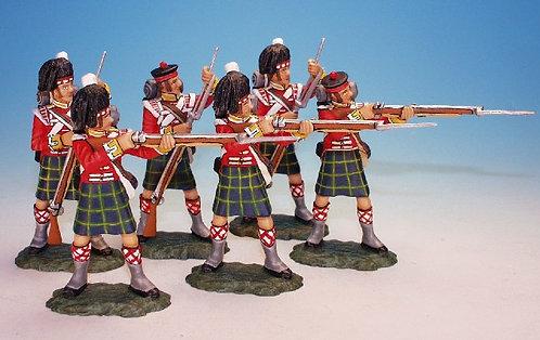 BNG.1 - 3 Loading and 3 Firing (6 pcs), Gordon Highlanders