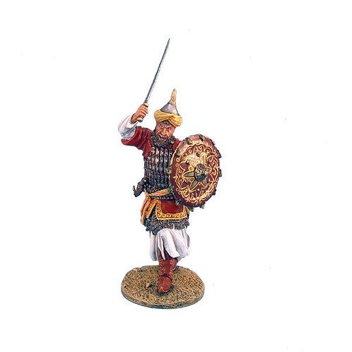 CRU028 - Mamluk Warrior with Sword and Shield