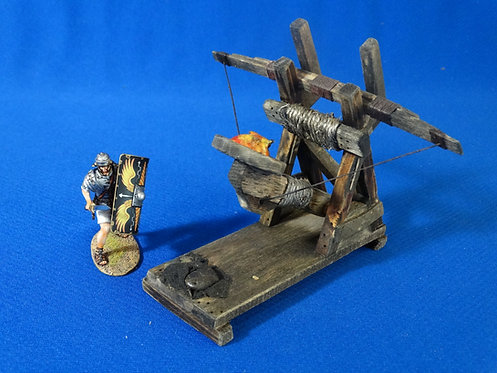 VD-009 - Roman/Medieval Catapult - Wood Construction - 60mm Scale - Volk Designs