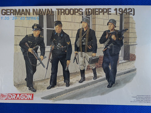 COJG-213 - German Naval Troops (Dieppe 1942) - German WWII - Dragon 1/35