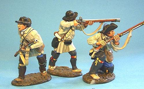 VM-04 - 3 Figures Skirmishing in Campaign Dress