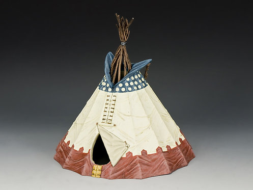 TRW083 - Sioux Indian Tepee (Version #2)
