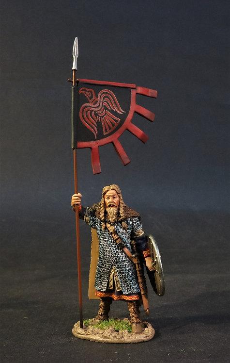 VIK-02 - Viking with Raven Banner