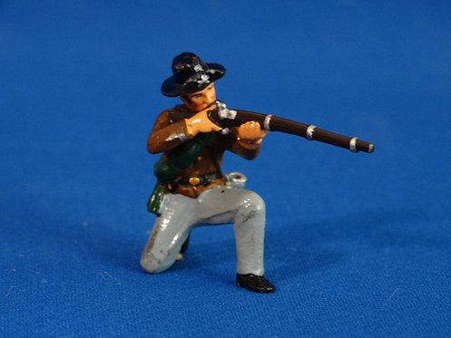 TY007 - Confederate Kneeling Firing - ACW - Trophy - 54mm Metal - No Box