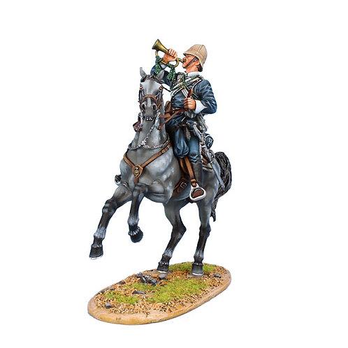 ZUL030 - British 17th Lancers Trumpeter