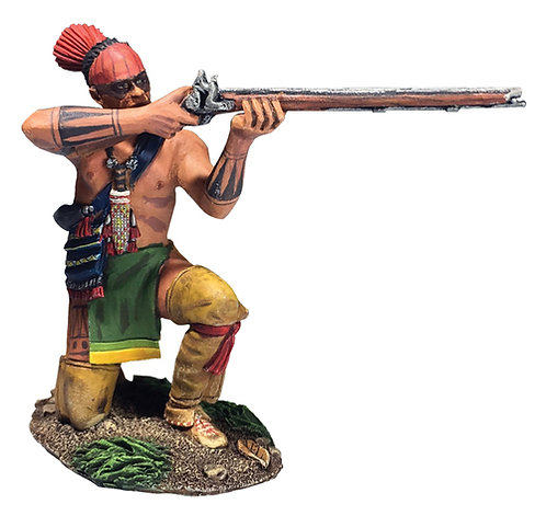 16064 - Native Warrior Kneeling Firing No.2