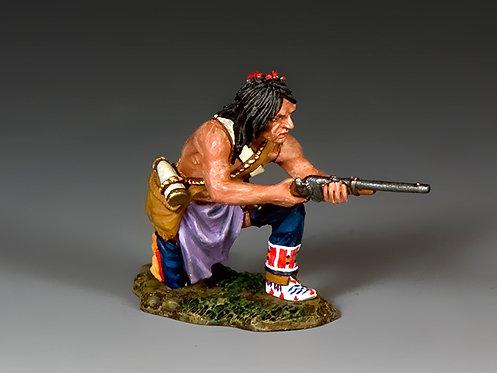 TRW131 - Kneeling Plains Indian with Carbine