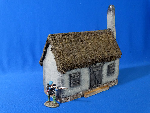 VD-037 - Large House - 60mm Scale - Foam Construction - Volk Designs