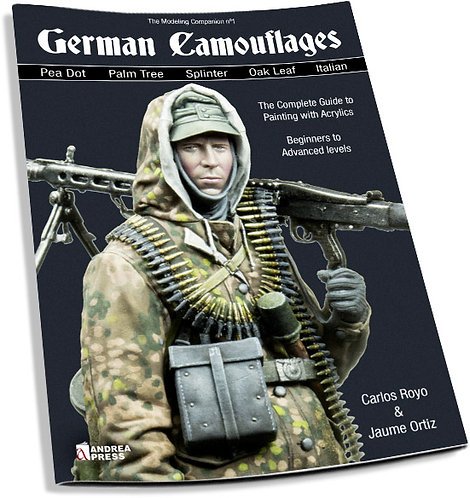 AP-063 - German Camouflages: The Complete Guide to Painting with Acrylics