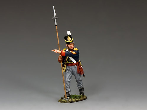 NA344 - British Royal Artillery Sergeant with Pike
