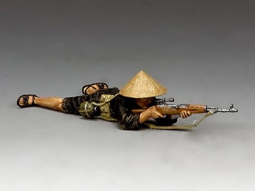 VN019 - Lying Prone Viet Cong Sniper