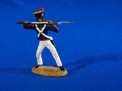 CORD-AL044 - Mexican Grenadier Thrusting - Alamo - Unknown Manufacturer - 54mm
