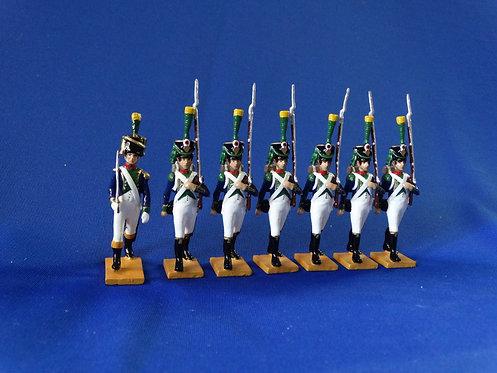 MI-714 - French Line Infantry - Napoleonics - Beau Geste - 54mm Metal - In Box