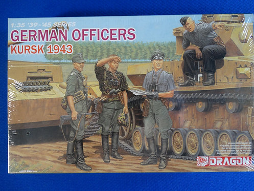 COJG-214 - German Officers (Kursk 1943) - German WWII - Dragon 1/35 - Plastic Ki